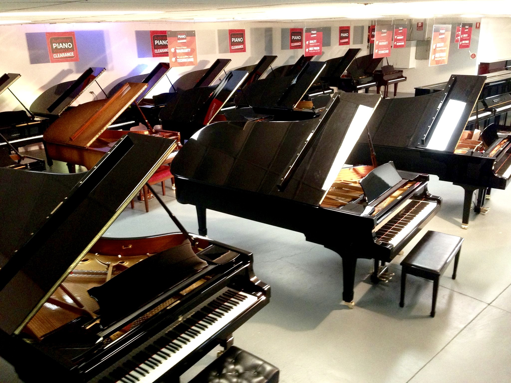 piano stores Brisbane