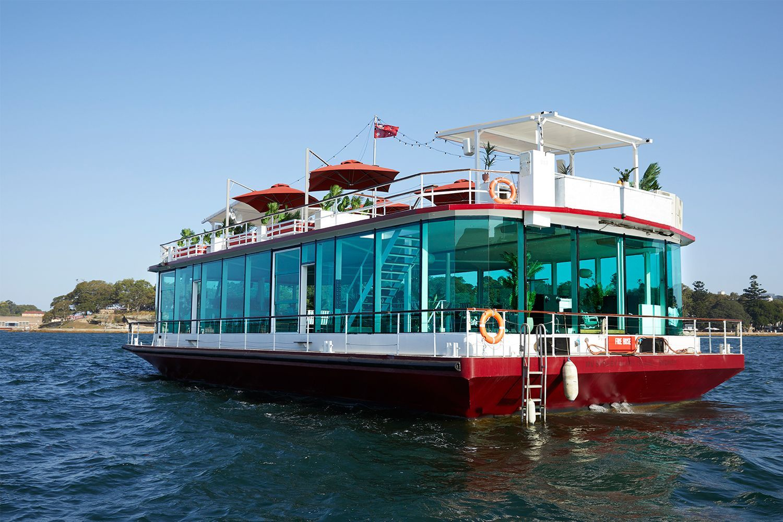 Brisbane party boat