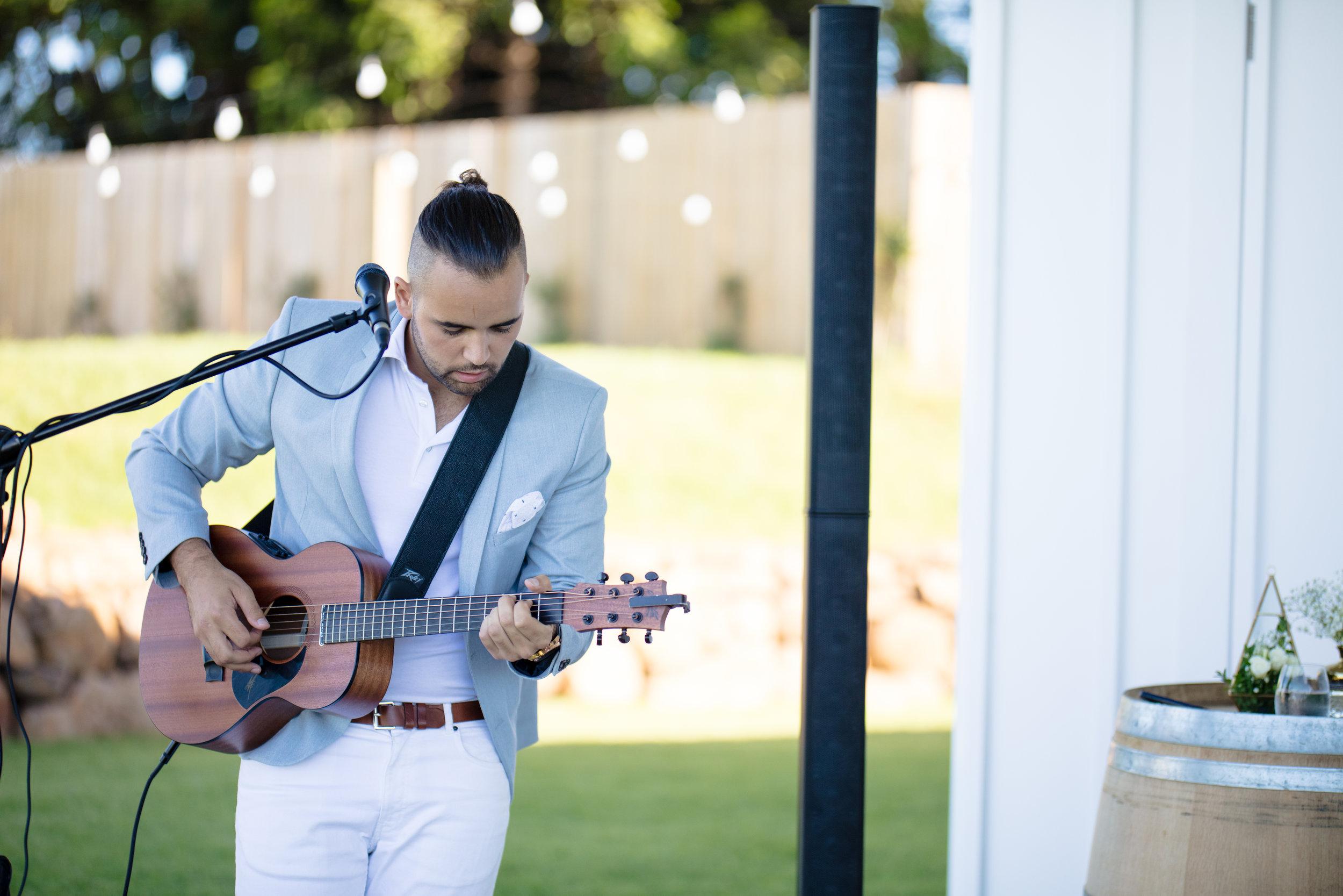 wedding singer Brisbane