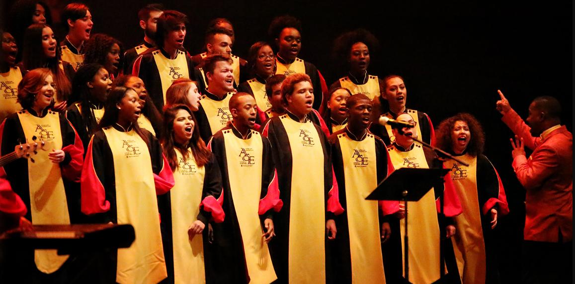 African American choir